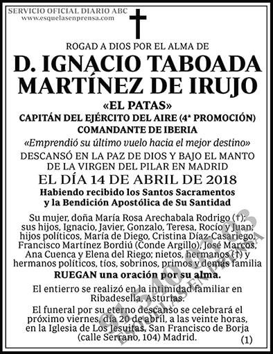 Ignacio Taboada Martínez de Irujo